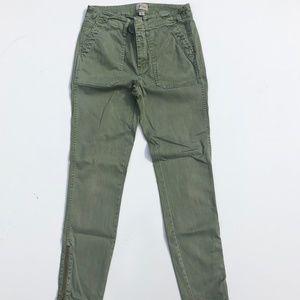 J.Crew Army Green Utility Style Pants